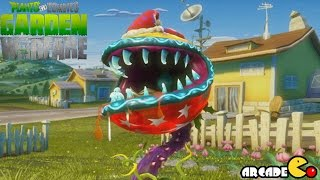 getlinkyoutube.com-Plants vs Zombies Garden Warfare Gameplay -  Christmas Festive Fire Chomper