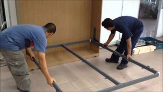 getlinkyoutube.com-Wall Bed Assembly Instructions (Temp)