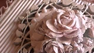 getlinkyoutube.com-Wild Orchid Crafts - Shabbychic Heart Cigar Box.