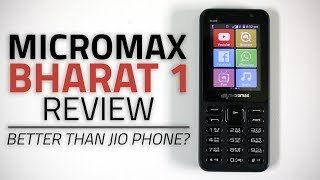 Micromax Bharat 1 Review | 4G Feature Phone with WhatsApp, Wi-Fi Hotspot width=