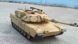 getlinkyoutube.com-M1A2 Henglong 1/16 Clark Electric BB+IR Version No.01