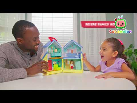Cocomelon Deluxe Family House Playset
