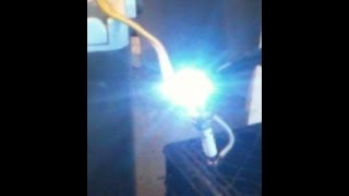 getlinkyoutube.com-Seperating water (hho) and burning it at the same time with AC plasma