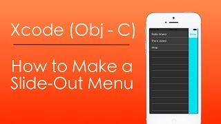 getlinkyoutube.com-How to Make a Slide Out Menu with Objective-C in Xcode