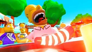 getlinkyoutube.com-LEGO Dimensions Homer Eats Guatemalan Insanity Peppers!