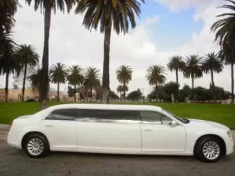 2014 White 70-inch 6 passenger Chrysler 300 limousine for sale #614