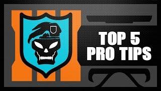 getlinkyoutube.com-Black Ops 3 Top 5 PRO TIPS & TRICKS (Strategy Guide Tutorial)