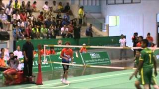getlinkyoutube.com-Takeshi Terashima in Takraw Thailand League 2013 Match 13