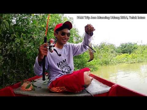 FAM Trip Jom Mancing Udang 2014 Di Teluk Intan, Perak