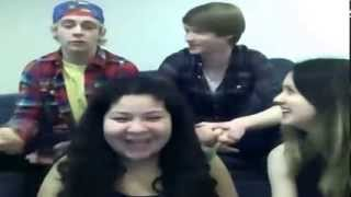 getlinkyoutube.com-Austin & Ally Cast Live Stream December 3, 2012