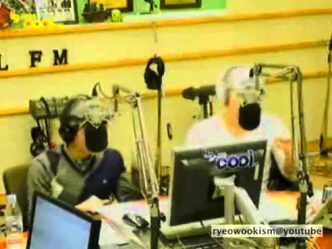 111208 Sukira cut - Ryeowook & Sungmin singing White Christmas