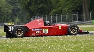 getlinkyoutube.com-The Best Sounding F1 Engine: Ferrari 3.0L V12 - 1995 Ferrari 412 T2 Sound