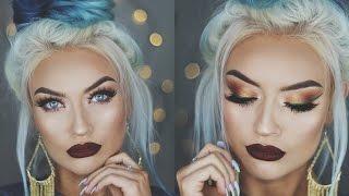 getlinkyoutube.com-CHRISTMAS GLAM Holiday Makeup Tutorial