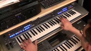 getlinkyoutube.com-TYROS 5 -    MEDLEY SLOW ROCK : Andrea Bocelli - Con te Partiro - The Beatles Yesterday......