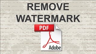 getlinkyoutube.com-Remove watermark from PDF