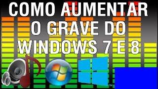 getlinkyoutube.com-Como aumentar o grave do Windows 7 e 8