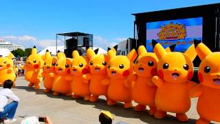getlinkyoutube.com-Pikachu event 2015 -- line dance