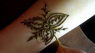 getlinkyoutube.com-Moroccan Henna Motif