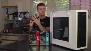 getlinkyoutube.com-Linus Tech Quickie: Corsair Air Series high-airflow fan demonstration