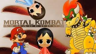 getlinkyoutube.com-ABM: Mario vs Bowser on Mortal Kombat Armageddon HD