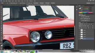 getlinkyoutube.com-Photoshop cs6 car tuning