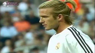 getlinkyoutube.com-David Beckham Vs Real Betis II Real Madrid Debut