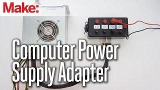 getlinkyoutube.com-Computer Power Supply Adapter