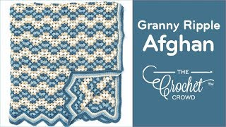 getlinkyoutube.com-How to Crochet An Afghan: Granny Ripple Afghan
