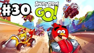 Angry Birds Go! Gameplay Walkthrough Part 30 - Corporal Pig Recruited! Stunt (iOS, Android)