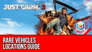 getlinkyoutube.com-Just Cause 3 - Rare Vehicles Locations (Verdelon 3, Squalo X7, Autostraad Reisender 7, News Chopper)