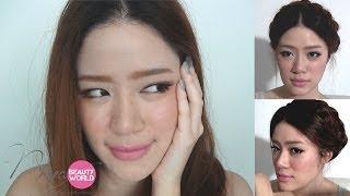 getlinkyoutube.com-HOW-TO || Sweet Bohemian Makeup & Hair || NinaBeautyWorld