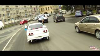 getlinkyoutube.com-DriftMania - Дрифт-свадьба Дениса и Алины