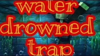 subscribe UNDERWATER  DROWNING TRAP! - Minecraft Tutorial width=
