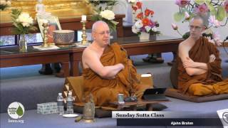 getlinkyoutube.com-Word of the Buddha | Ajahn Brahm | 27 Nov 2016