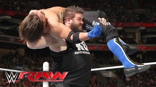 AJ Styles vs. Kevin Owens: Raw, March 21, 2016