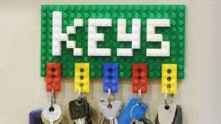getlinkyoutube.com-How to Make a Lego Key Holder