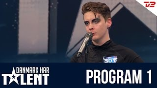 getlinkyoutube.com-Sigmund Trond - Danmark har talent - Program 1