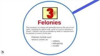 Classification of Florida Crimes