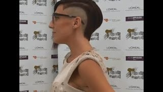 getlinkyoutube.com-Side Shave BOB
