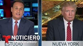 getlinkyoutube.com-Donald Trump responde a Telemundo tras comentarios sobre mexicanos | Noticiero | Noticias Telemundo