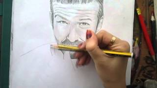 getlinkyoutube.com-David Beckham Drawing