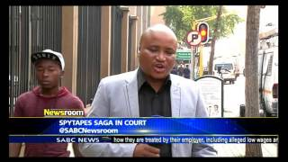 Spy tapes saga in court this Tuesday