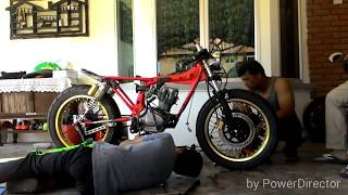 getlinkyoutube.com-Honda CG 125 Cafe Racer by Son & Dad CustomsHD