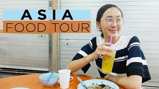 What I Ate in Malaysia and Singapore! | Asia Travel Vlog