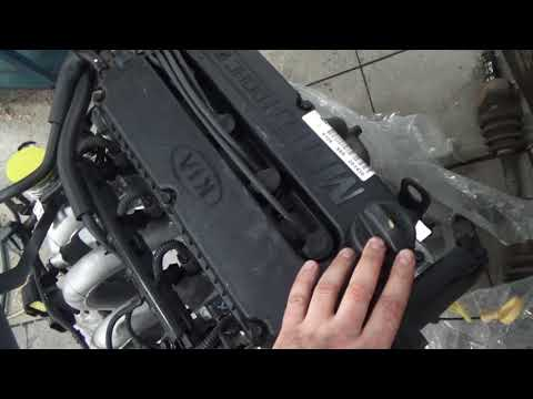 Замена двигателя Киа Спектра 1.6