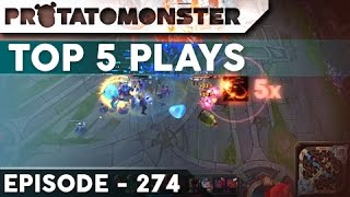 League of Legends Top 5 Plays Episode 274