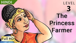 "getlinkyoutube.com-The Princess Farmer: Learn Hindi with subtitles - Story for Children ""BookBox.com"""