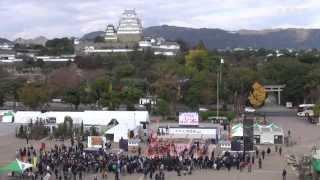 getlinkyoutube.com-姫路城グランドオープン記念で「人間将棋」