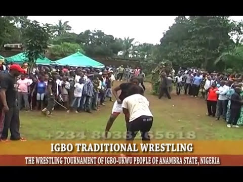 IGBO TRADITIONAL WOMEN WRESTLING COMPETITION