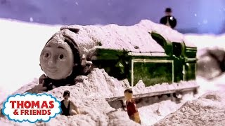 getlinkyoutube.com-Thomas & Friends: The Snow Storm Strikes | The Great Snow Storm of Sodor Ep. #2 | Thomas & Friends